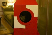 Cardboard-Cat-Tower