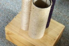 Cardboard-Tube-Scratching-Post