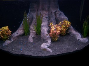Diy 3d aquarium decor for Aquarium decoration paint