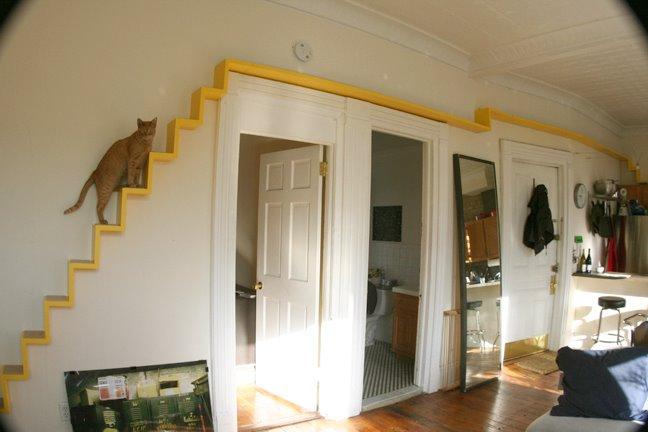diy catwalk. Black Bedroom Furniture Sets. Home Design Ideas