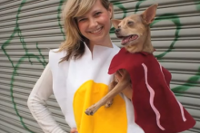 DIY-Dog-Bacon-Costume