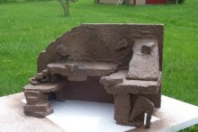 DIY Gecko Rock Wall