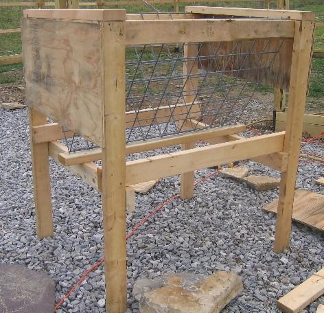 Diy Hay Rack Goat Feeder Petdiys Com