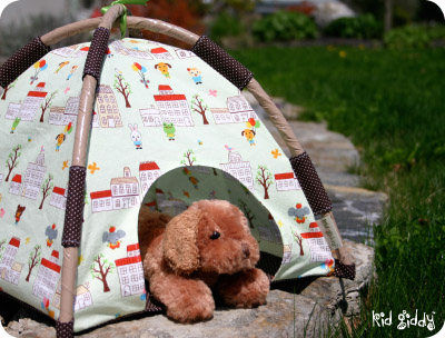 & DIY Dog Tent - petdiys.com