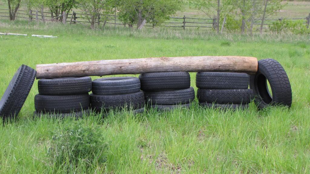 Diy Tire Horse Jump Petdiys Com