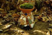 Planter-Toad-House
