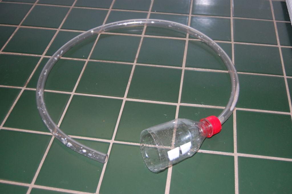 Diy aquarium gravel vacuum for Diy gravel filter
