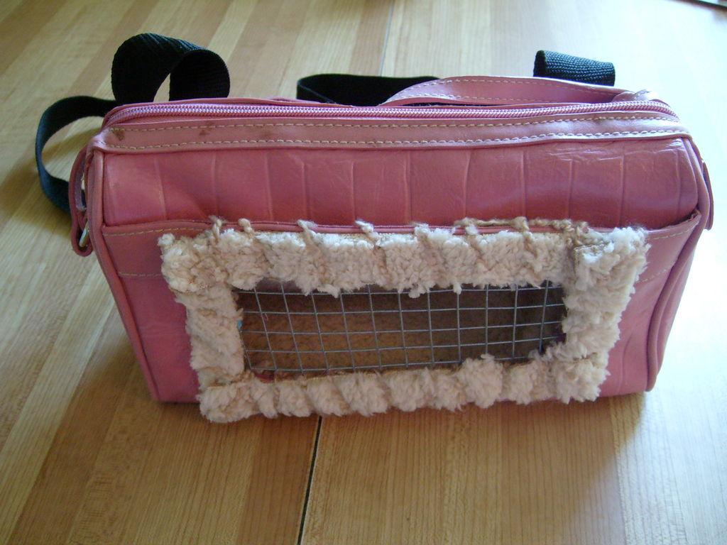 Сделать сумку для кота своими руками