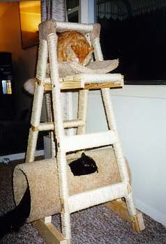 Step ladder cat tree for Cat tree steps