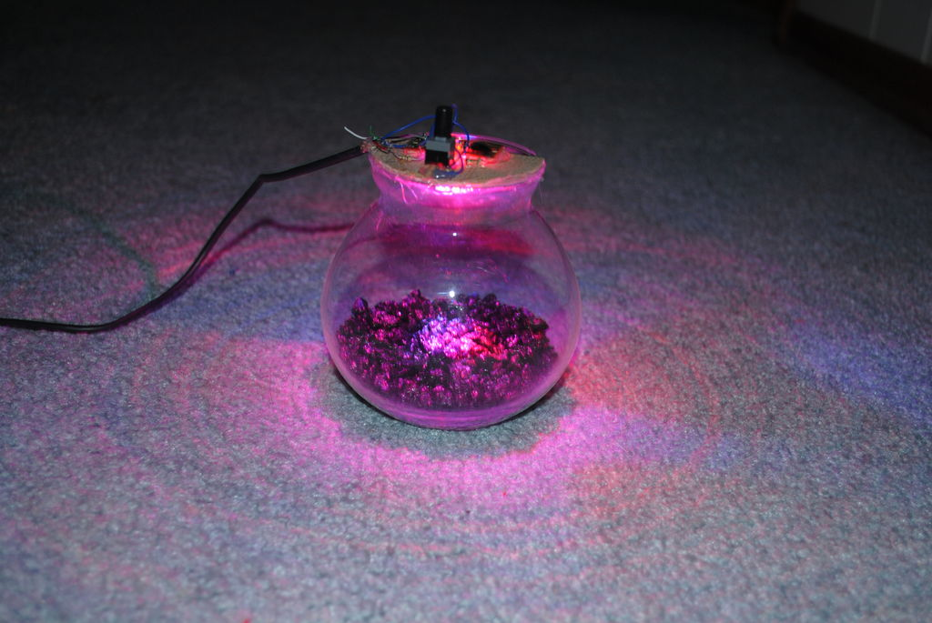 usb fish bowl light