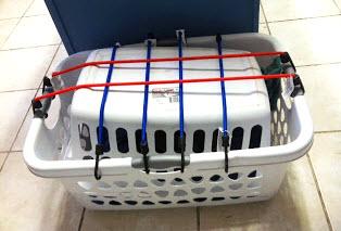 laundry basket cat carrier