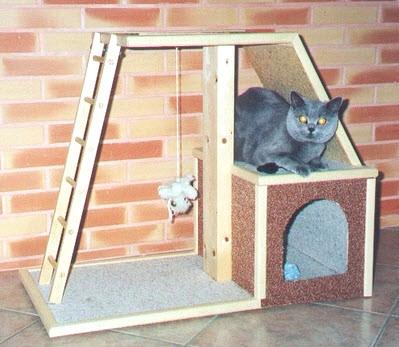 Diy cat playground for Diy cat playground