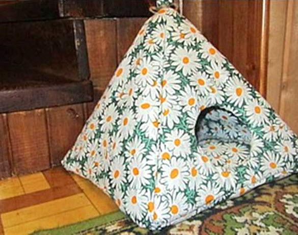 & DIY Cat Tent Hide - petdiys.com