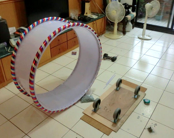 DIY Plastic Cat Wheel Petdiyscom