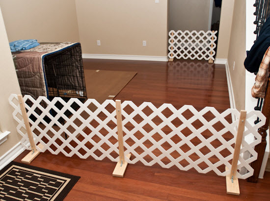 Diy Lattice Pet Gate Petdiys Com