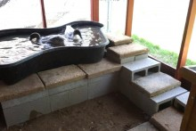 DIY-Stone-Draining-Pool-Deck