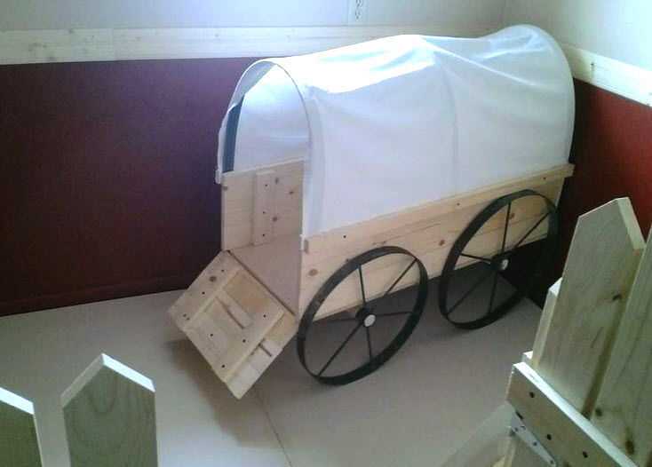 Diy Covered Wagon Bed Petdiyscom