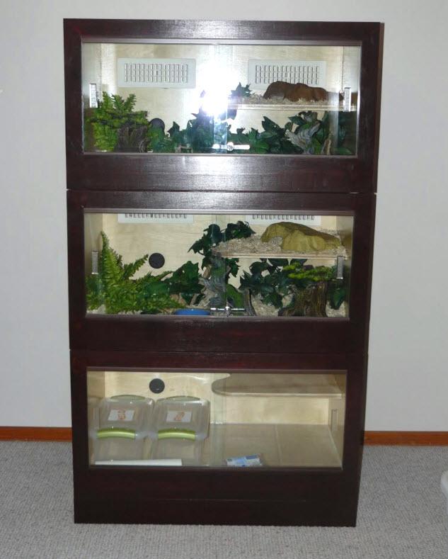 DIY Wood Box Reptile Cage Petdiyscom
