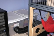 DIY-Ferret-Cage-Remote-Litter-Box