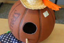 Basketball-Birdhouse
