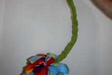 DIY-Fleece-Flower-Decor