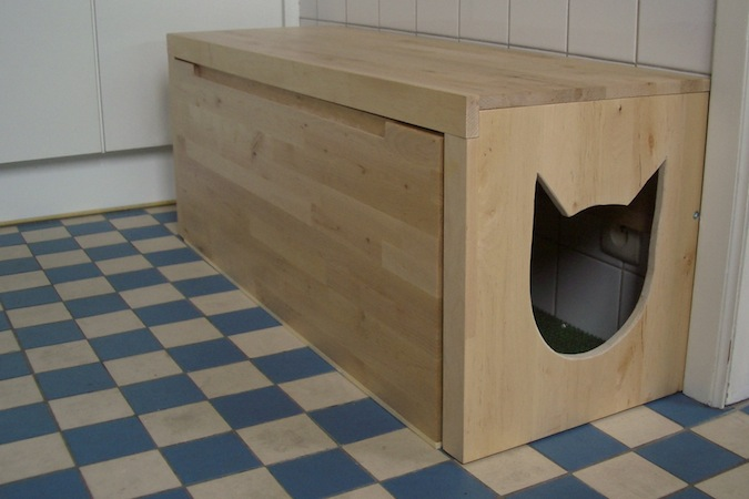 Diy Litter Box Bench Petdiys Com