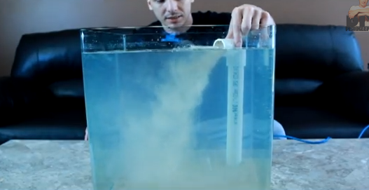 Diy Underwater Sand Waterfall Petdiys Com