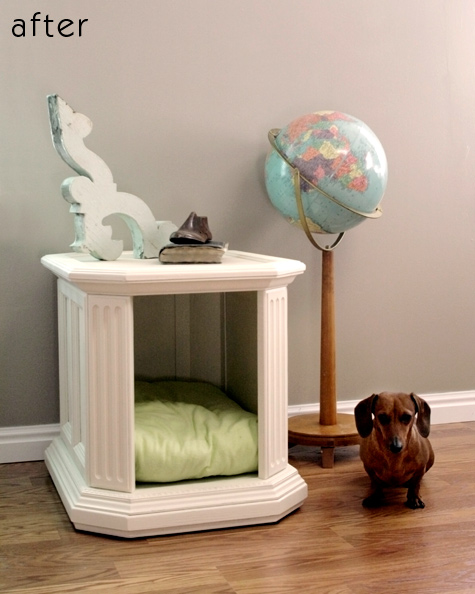 End Table Dog Bed - petdiys.com