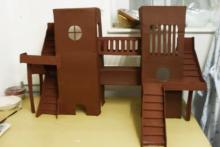 Paper-Mache-Hamster-Tower