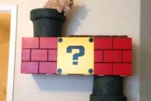 DIY-Super-Mario-Cat-Shelf