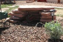 DIY-Stone-Shade-Shelter