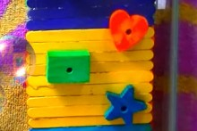 Popsicle-Stick-Hamster-Climbing-Wall