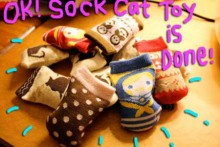 Sock-Catnip-Toy