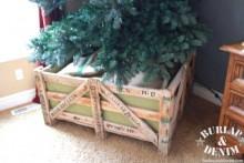 DIY-Wood-Christmas-Tree-Barricade-Stand