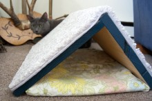 DIY-Wood-Tent-Cat-Scratcher
